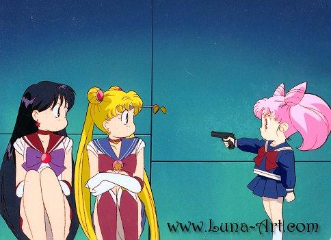 Luna-Art Cel Gallery - Sailor Moon R Movie