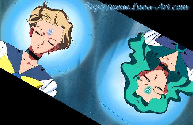 Luna Art Cel Gallery Haruka Sailor Uranus